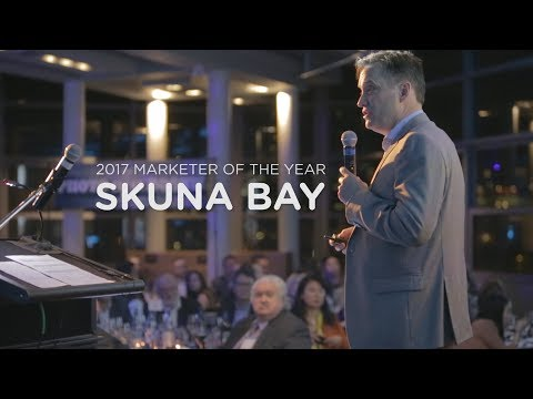 BCAMA Marketer Of the Year 2017 | Skuna Bay