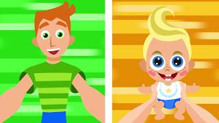 In the best of baby mood - the funny cartoon and family song   ...