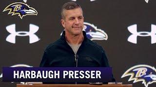 John Harbaugh Not Focused on AFC Standings | Baltimore Ravens