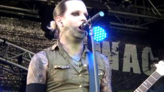 Lord of the Lost - Six feet underground (live) @ WACKEL Festival 25.07.2014