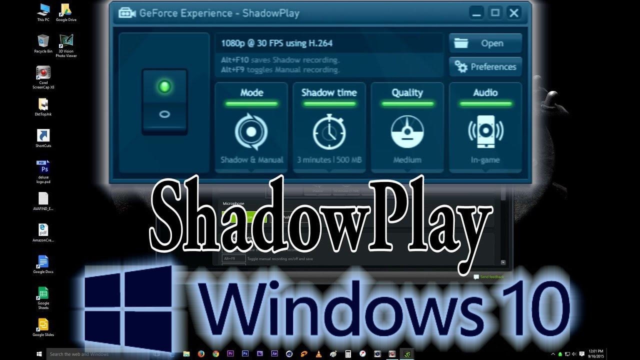 how to allow desktop capture windows 10
