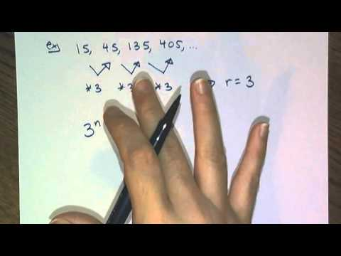 Explicit Formulas For Geometric Sequences