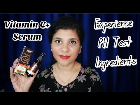 *New* Wow Vitamin C+ 20% Serum | Detailed Review, PH Test, Experience | An Average Product