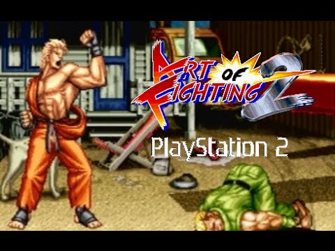 Art of Fighting 2 playthrough (PS2) - YouTube