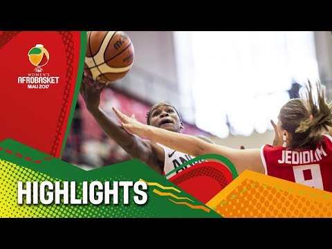 Angola v Tunisia - Highlights - FIBA Women's AfroBasket 2017