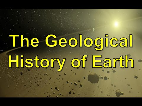 The Geological History of Earth