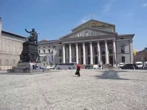Bavarian State Opera House(Bayerische Staatsoper), Munich, Germany, May, 2011