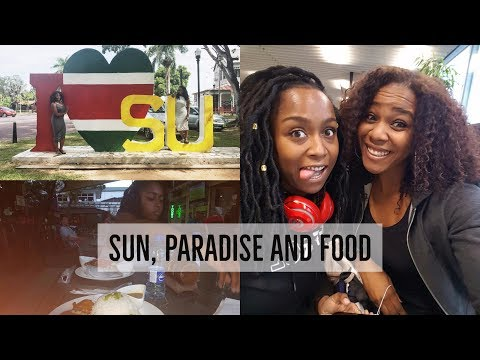 TRAVEL VLOG: Suriname 2016 - week 1 | SUN, PARADISE AND FOOD