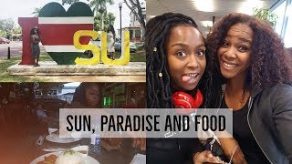 Vacation Vlog Suriname 2016, week 1   SUN, PARADISE AND FOOD