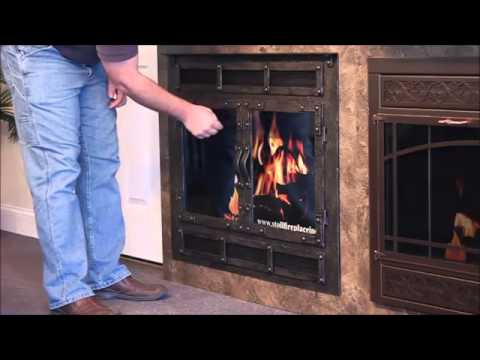 Stoll Fireplace Reface Stoll Fireplace Doors Youtube