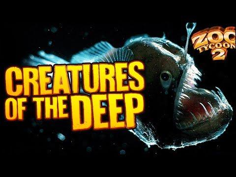 Zoo Tycoon 2: The Aquarium | CREATURES OF THE DEEP (Aquarium Part 4)