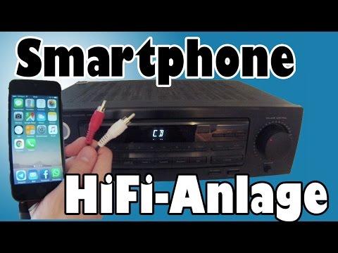 Smartphone/iPhone an HiFi-Anlage anschließen