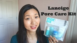 Gambar cover Laneige Pore Care Trial Kit 5 Pieces