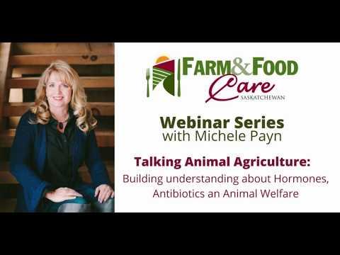 Talking Animal Agriculture Webinar with Michele Payn Webinar