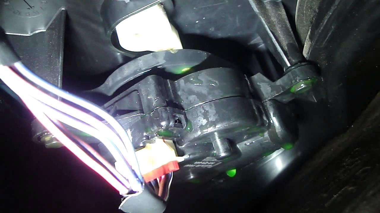 Dodge blend door motor  YouTube