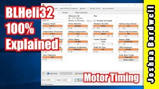 BLHeli32 100% Explained - Part 3 - Motor Timing