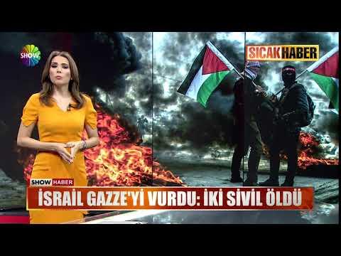 İsrail Gazze'yi Vurdu: İki Sivil öldü