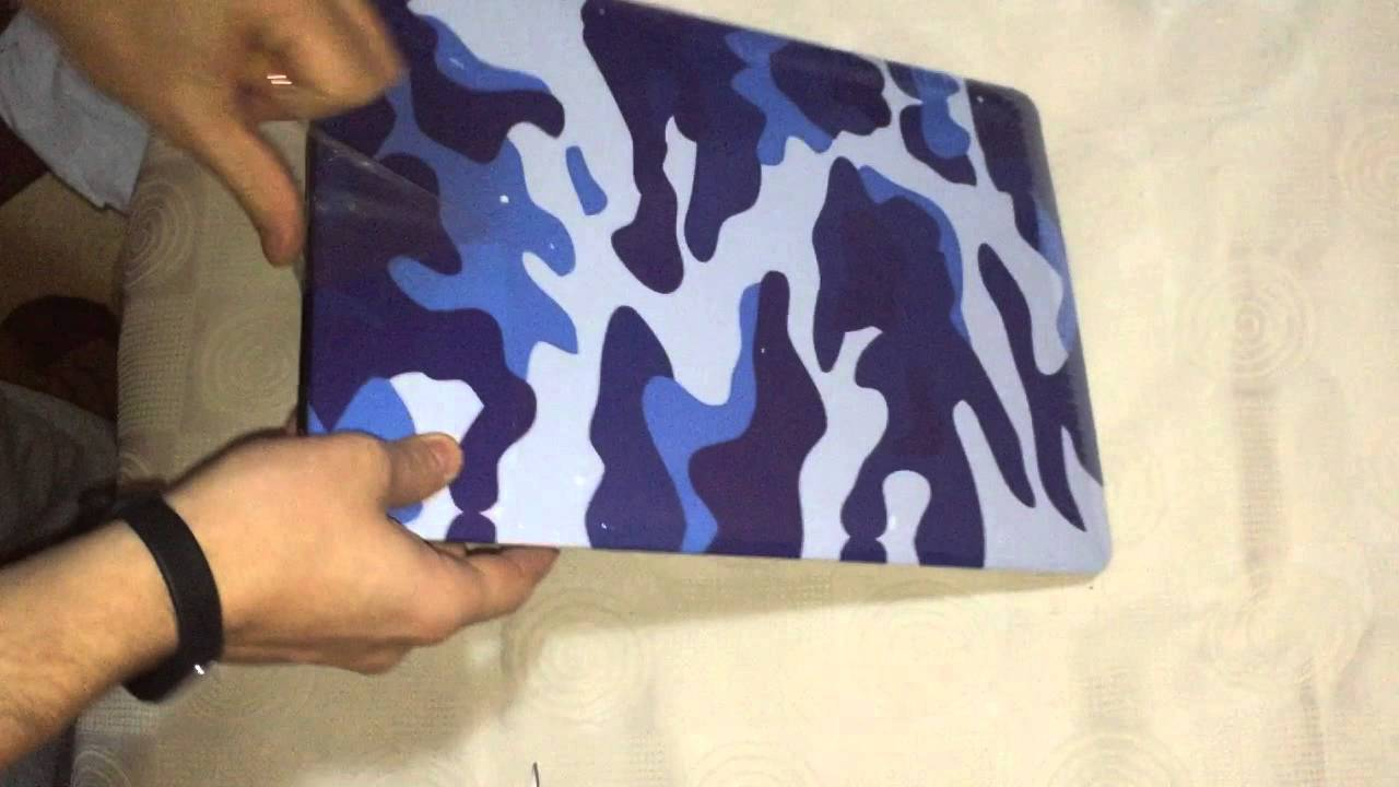 outlet store 46591 76236 Macbook Pro Camouflage Protective Case - Unboxing