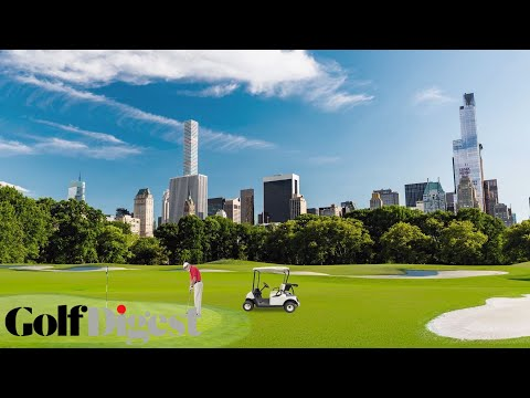 Turning Central Park Into a Golf Course | Golf Digest