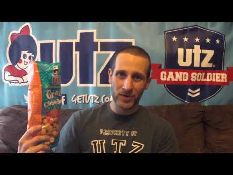 Brand New Utz Quality Foods Crab White Cheddar Cheese Balls!