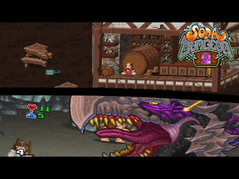 New Dungeon in a New Dimension! (Soda Dungeon 2) |