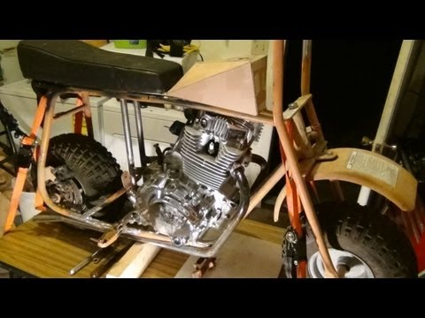 Repeat KZ440 Custom Part 6 - Final Assembly by DuckmanCycles
