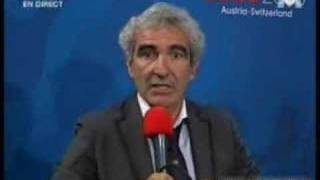raymond domenech interviewed in 100 foot