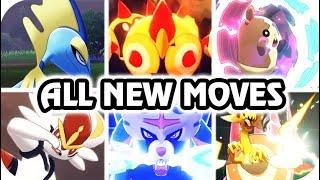 Pokémon Sword & Shield : All New Signature Moves & Info (HQ)