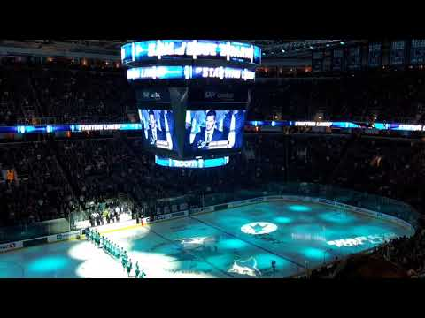 San Jose Sharks Home Opener Pre-game Show
