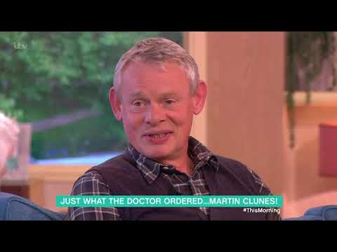Martin Clunes Loves Working With His Dogs on Doc Martin | This Morning