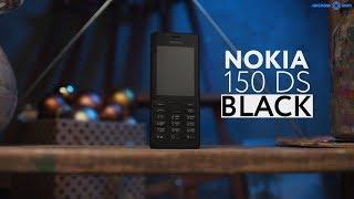 Обзор настоящего телефона Nokia 150 Black в 4K