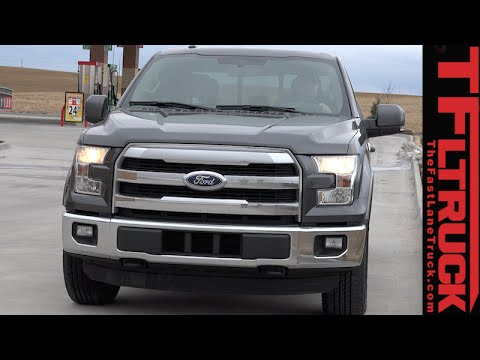 2015 Ford F-150 2.7L Real World MPG Test: Is the EPA MPG Correct?