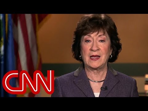 Susan Collins: Moore accusations are credible
