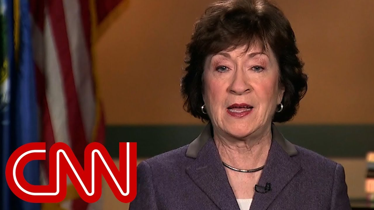 Susan Collins: Moore accusations are credible