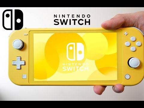 NEW Nintendo Switch Lite - Unboxing & Review