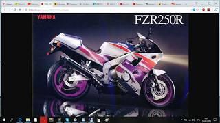 Восстановление YAMAHA FZR250R. Покупаем оригинальные запчасти ДЁШЕВО!