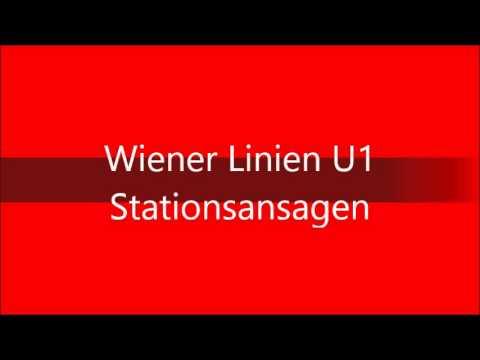 Wiener Linien U2 Stationsansagen Youtube