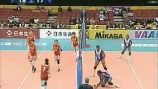 Video CUBA VS CHINA WORLD CHAMPIONSHIP 2006 VOLLEYBALL download MP3, 3GP, MP4, WEBM, AVI, FLV Oktober 2018