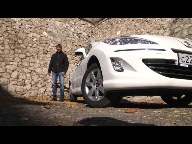 тест Peugeot 408   www.skorost-tv.ru