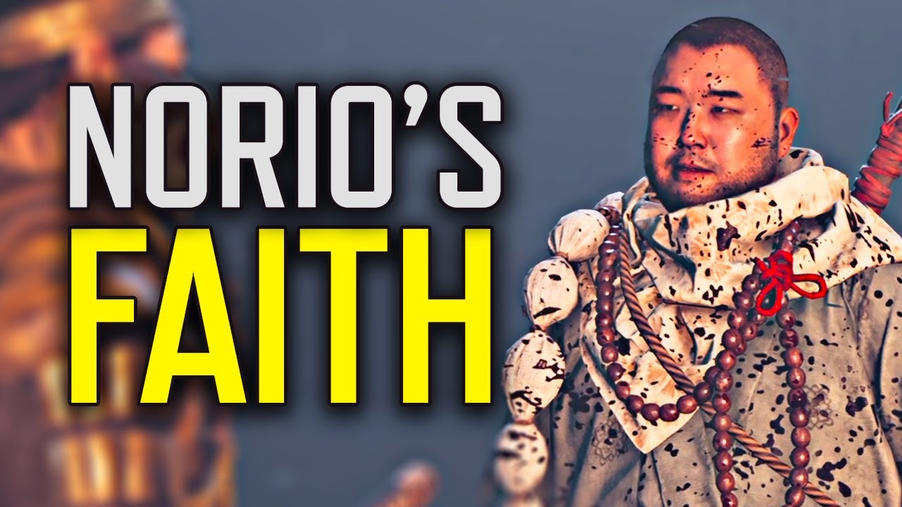 Ghost of Tsushima - How Norio the Warrior Monk Lost His Faith // Complete Tales + All Scenes