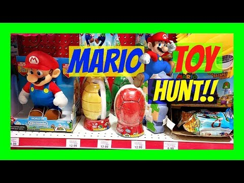 Toys R Us Mario  TOYS / Nintendo TOY HUNT/ TOY HUNTING 2017