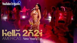 "Dua Lipa performs ""Don't Start Now"" | Hello 2021: Americas"