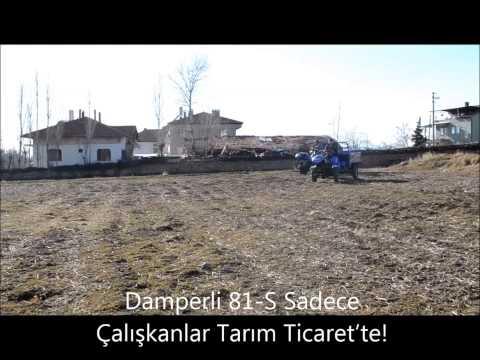 Damperli 81-S Sadece Çalışkanlar Tarım Ticaret'te