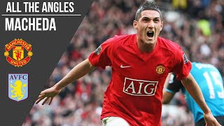 Federico Macheda v Aston Villa Goal (2009) | All the Angles | Manchester United