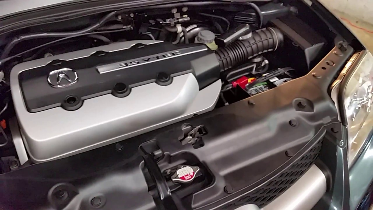 2001 2006 acura mdx checking coolant level in radiator filler hole