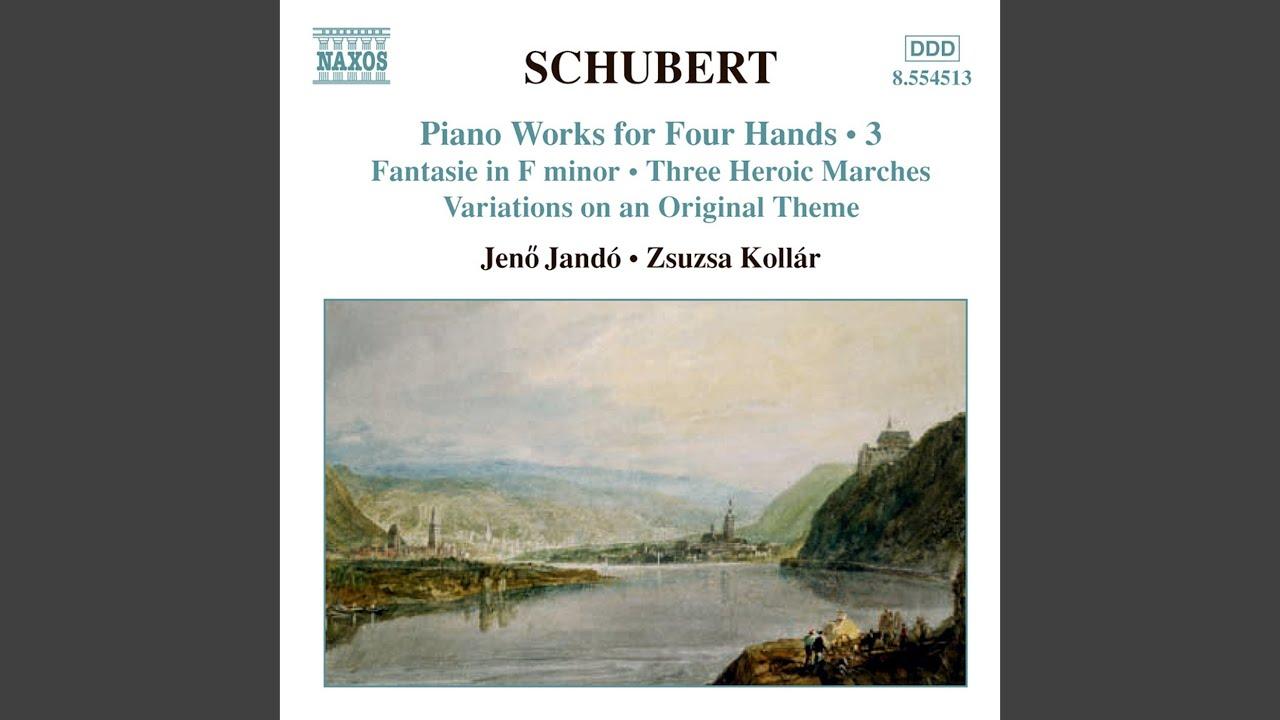Fantasie in F Minor, Op. 103, D. 940