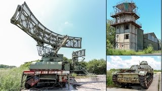 Abandoned NATO Air Base - RussianTanks in France - Lost Place Adventure