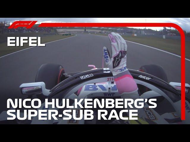 Von der Couch zum Cockpit, das Beste von Nico Hülkenbergs Super-Sub Race | Eifel-Grand-Prix 2020