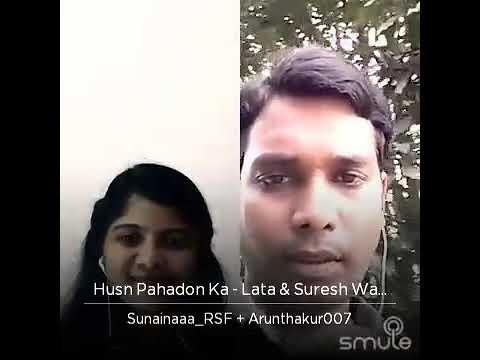 Husn Pahadon ka song by Arun Kumar