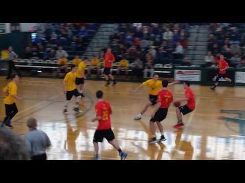 Maine Class C All-Stars High School basketball period 1